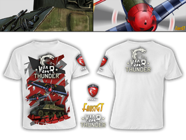 T-Shirt for Contest War Thunder and MSI by FaustGT