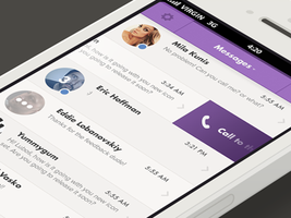Viber app (iOS) by OtherPlanet