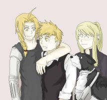 FMA: Siblings by one-who-draws