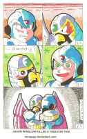 It Takes A MegaMan To Be A Dad by Mrcappy
