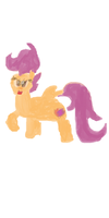 Chapter art for my current Dinky fanfic by CMC--Scootaloo