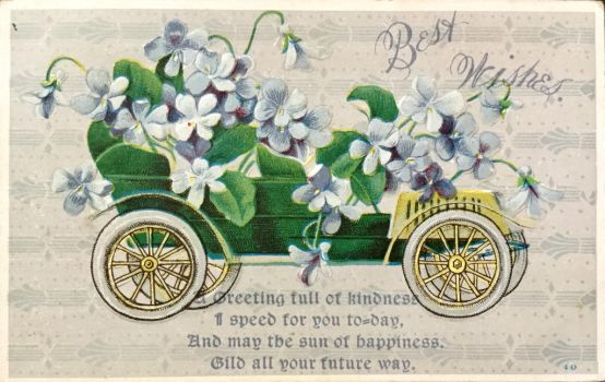 A Greeting Full of Kindness I Speed for You To-Day by Yesterdays-Paper