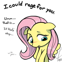 I could rage for you. by Dreatos