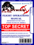 FA-70A Flight Manual Cover by viperaviator
