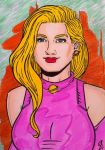 Saturn Girl by seanpatrick76