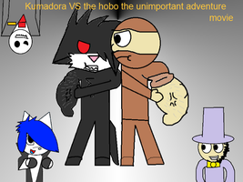 kumadora vs the hobo the unimportant adventure by Heavenly-Warrior-AD