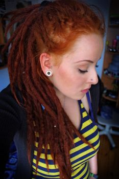 red dread sad head by toksycznie