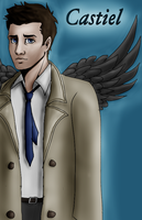 Castiel by XxKewonaWolfxX