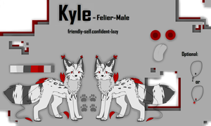 Kyle || Ref Sheet by Dycare