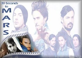 30 Seconds to Mars Wallpaper by auris2406
