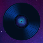 Vinyl Record Blue by archmagemusic