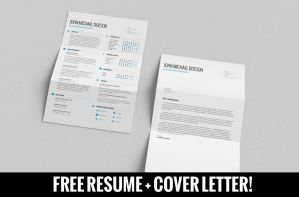 FREE Resume + Cover Letter by demorfoza