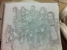 Attack on ______? (Youtubers) WIP by mikkie12