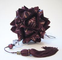 chocolate kusudama by headoverh33ls