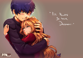 Toradora - Tiger and Dragon by MLeth