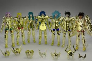 Saint seiya - Golds Saints by Wets01