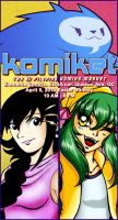 KOMIKET 2015 AD by lady-storykeeper