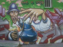 b-boy madrid by elbearone