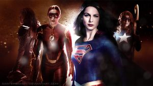 DCTV Girls by dan-zhbanov