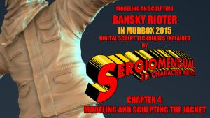 Mudbox Sculpt VideoCourse 4: Sculpting the Jacket by SergioMengual2012