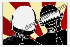 Daft Punk by ropa-to