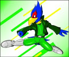 Falco B-Air by fluffy-sama