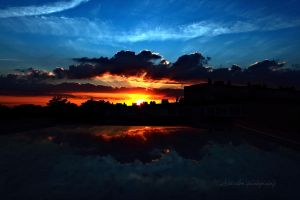 Sky in fire V by lilisplash
