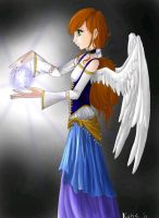 the angel strikes back by killerkitty159