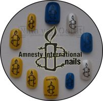 Amnesty nails2 by Ninails