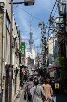 The Skytree by MarcAndrePhoto
