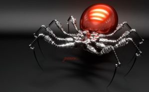 Robospider. Terrible name. by jackdarton