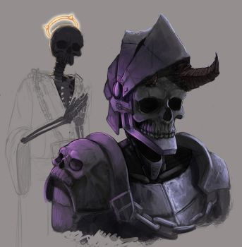 skeletons by modelchan