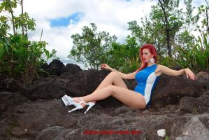 In Jungle, in Latex II. by Honeyhair
