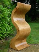 Wavy Sculpture (finished) by arbortechuser