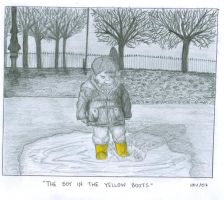 the boy in the yellow boots 2 by treehugginhippie