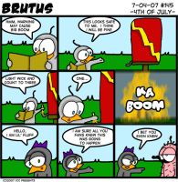 Brutus - 145 - 4th Of July by chelano