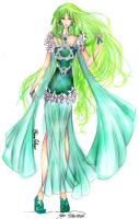 Goddess of Earth and Wind - Alternative Outfit by Mellorine91
