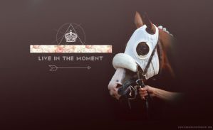 live in the moment. by atilthia