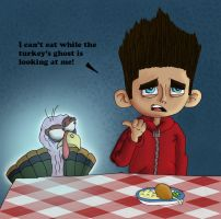 ParaNorman: Ghost of Turkey Past by Mohegan567
