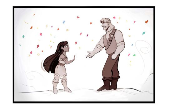 What if...Pocahontas... by didouchafik