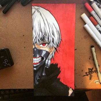 Ken Kaneki by MassoArt
