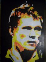London Rugby Wasps rugby man by fishbones-forever