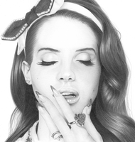Lana Del Rey by KevinPreston
