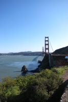 San Francisco - Golden Gate Bridge view by elodie50a
