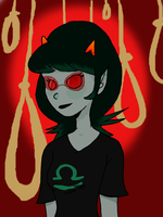 Terezi and Her Nooses by latewla