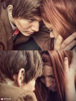 Doctor Who and Amy Pond by Roy-Ba