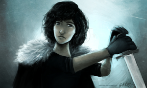 Jon Snow by camibee