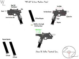 'MP-65' 6.5mm Machine Pistol by KillSwitchWes