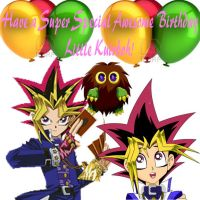 Happy Birthday Little Kuriboh! by CartoonPrincess15