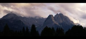 Mountains Garmisch 2 by skywalkerdesign
